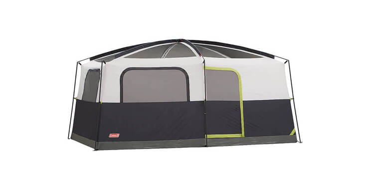 coleman prairie breeze 9-person cabin tent