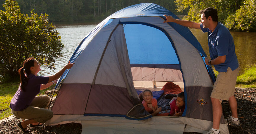 Staying Safe While Camping with Kids